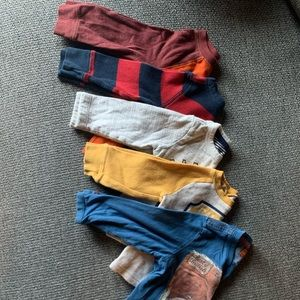 Lot of 5 long sleeve shirts 12-18 month